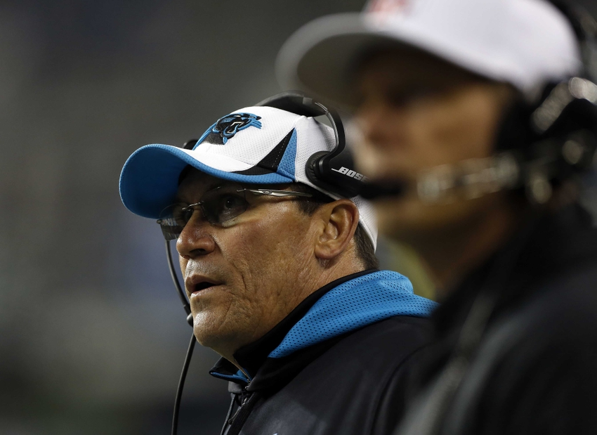 Breaking News: Panthers' Ron Rivera named NFL Coach of the ...