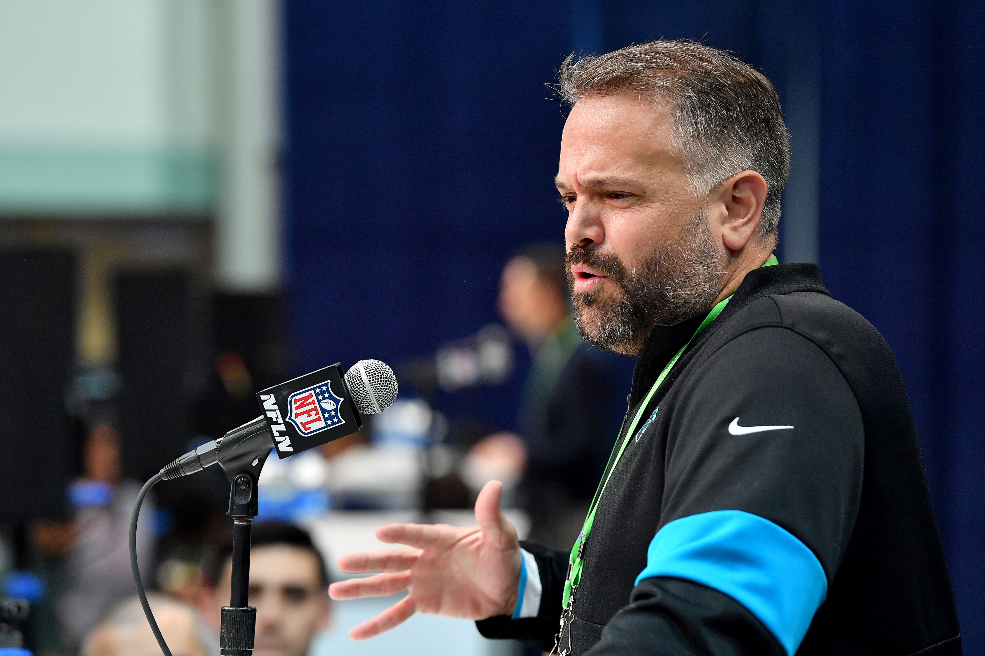 New Carolina Panthers coach Matt Rhule building a competitive roster