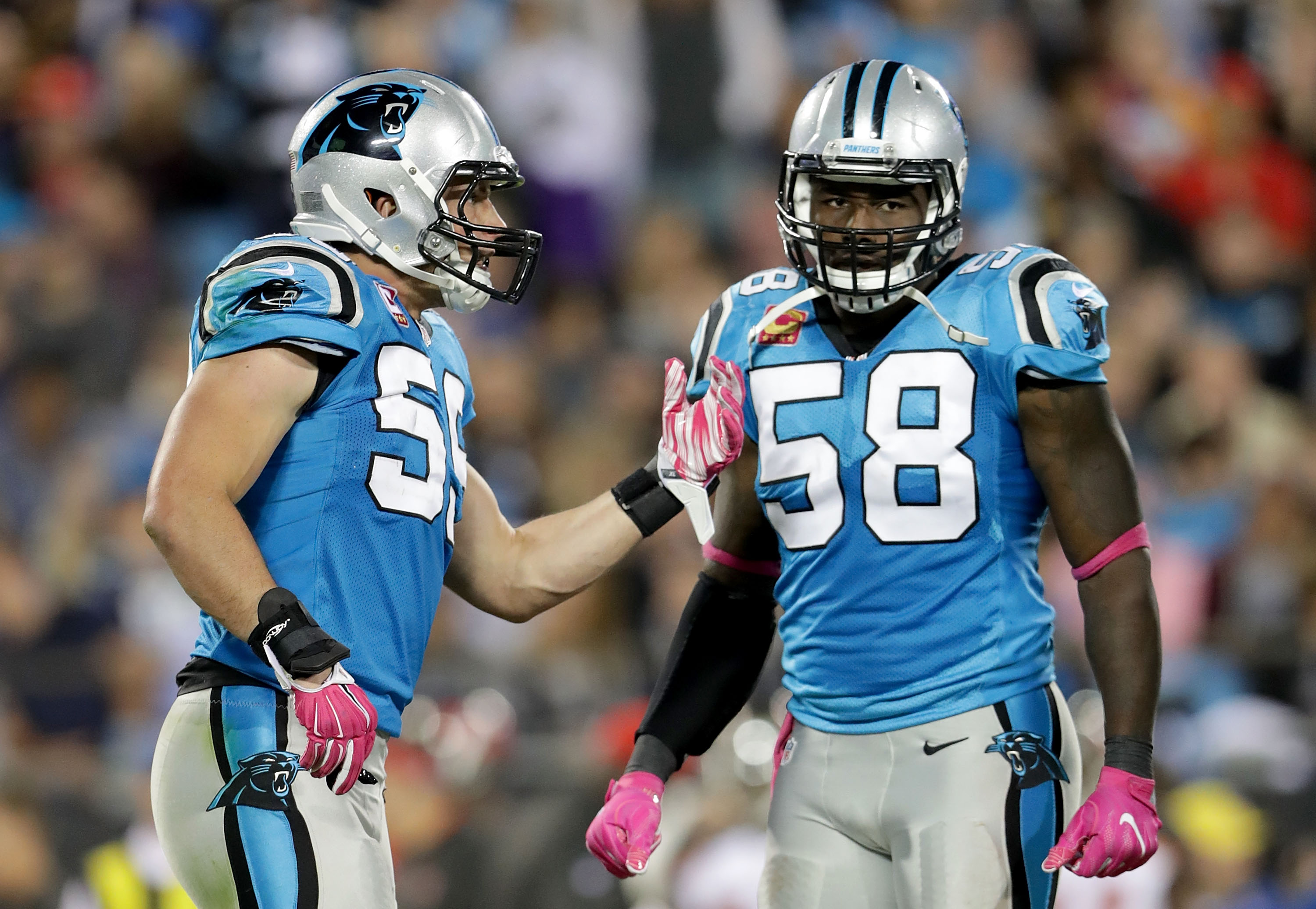 carolina panthers ranking the top 5 linebackers in