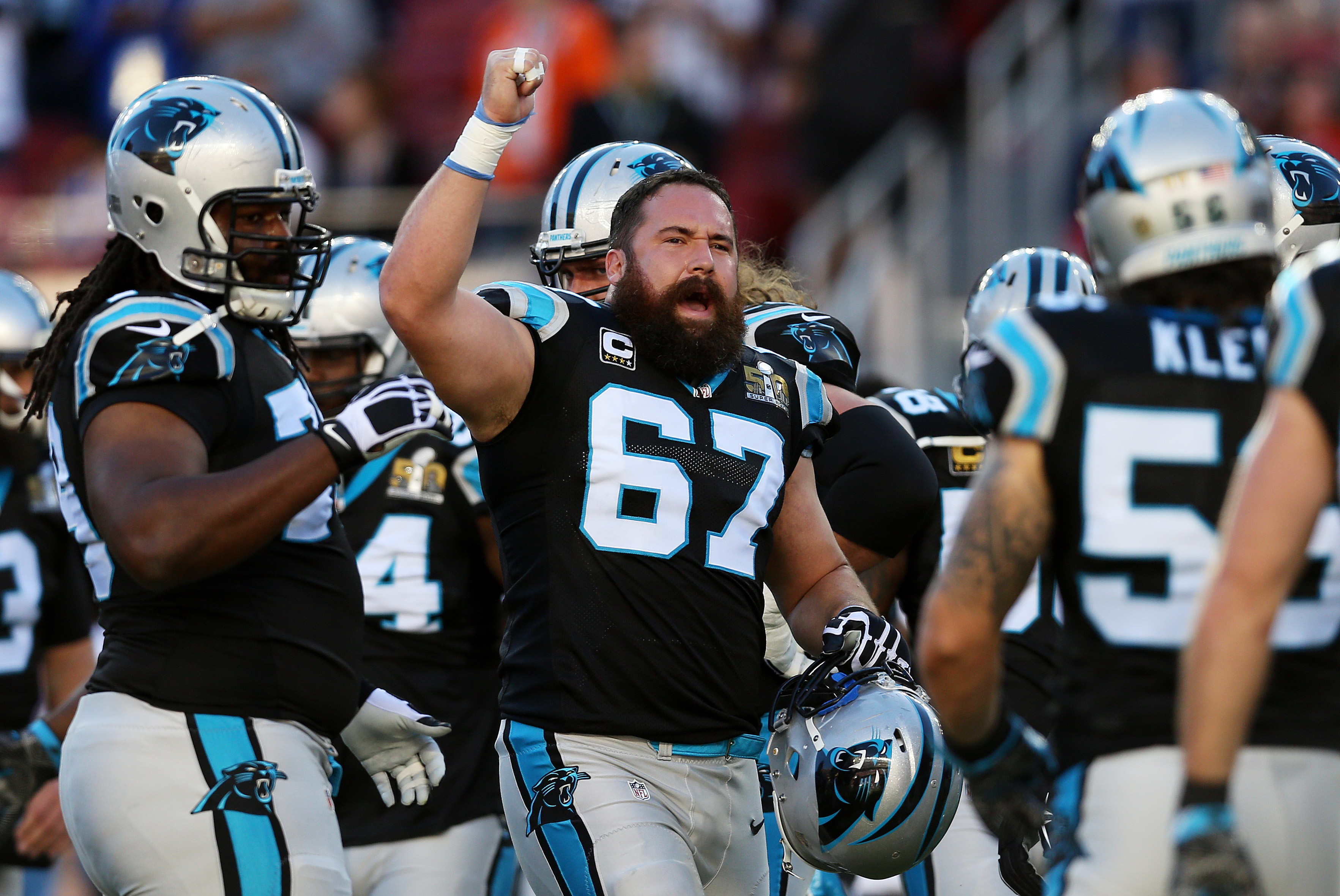 Carolina Panthers roster analysis Ryan Kalil C
