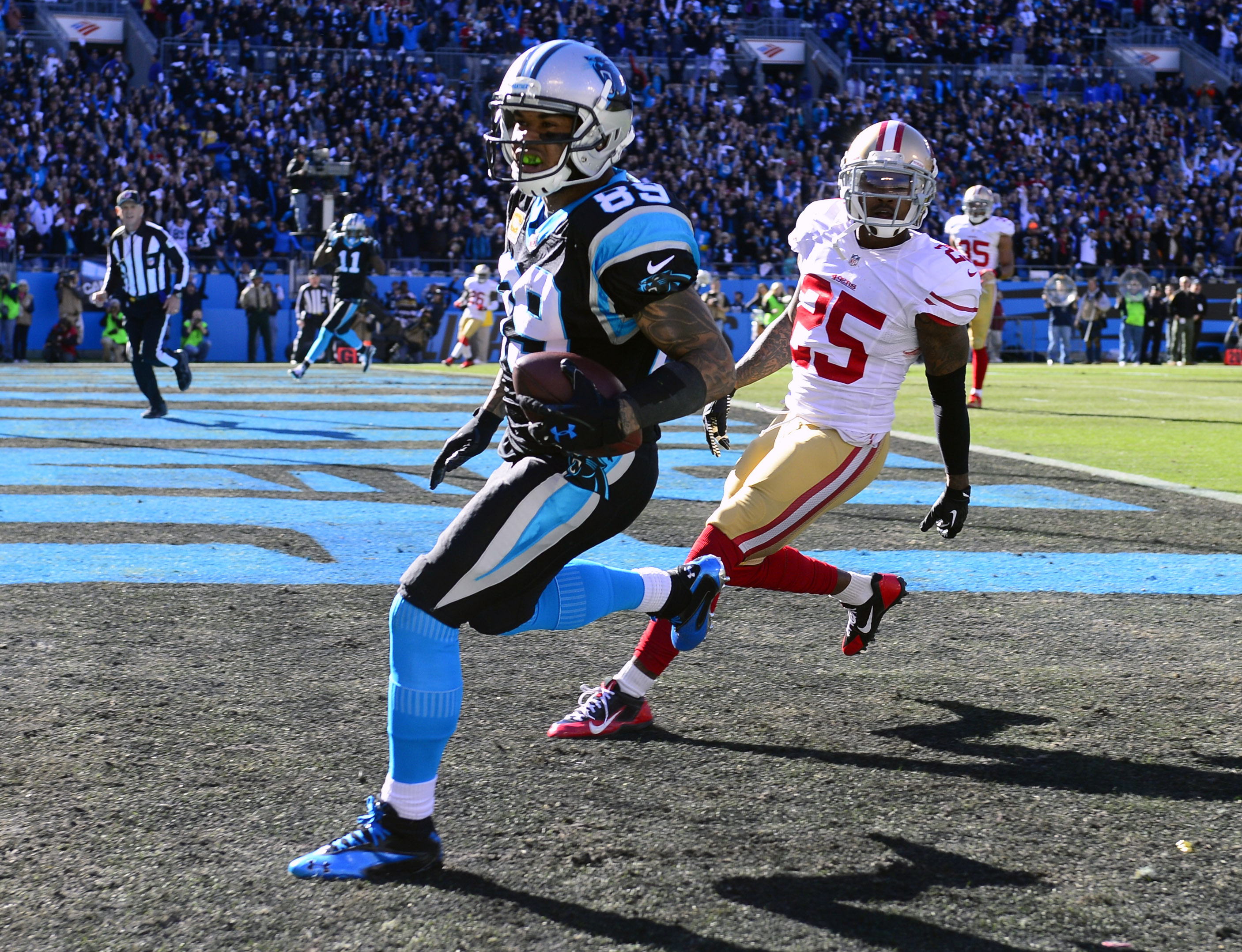 Carolina Panthers: Top 5 pass catchers in franchise history